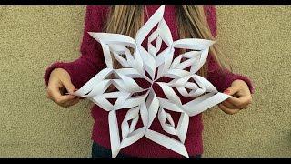 Tutorial video: Cum sa faci un fulg 3D?