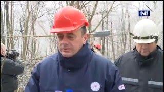 Как защитная каска спасла министра энергетики Сербии