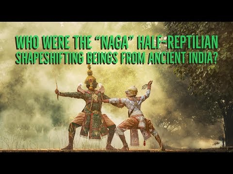 "Who Were the ""NAGA"" Half Reptilian Shapeshifting Beings From Ancient India?"