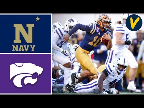#23 Navy Vs Kansas State Highlights |  2019 Liberty Bowl Highlights | College Football
