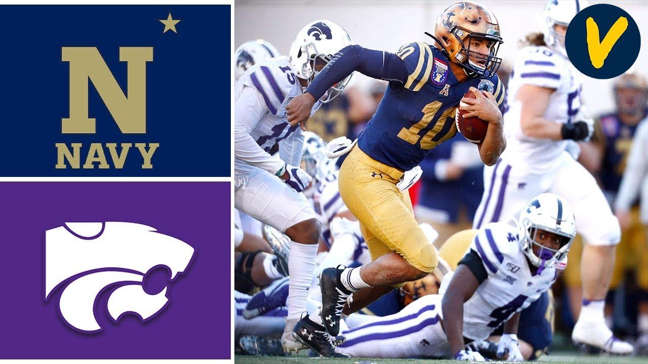 Navy Football Defeats Kansas State in the Liberty Bowl