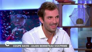 Coupe Davis : Julien Benneteau revient sur la défaite Française - C à vous - 24/11/2014