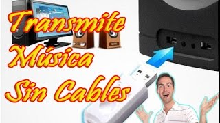 ¿MÚSICA SIN CABLES? RECEPTOR DE AUDIO BLUETOOTH USB!!! Review en Español!! ENGLISH SUBTITLE!!!