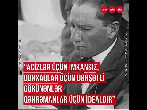 Atatürkdən ən maraqlı sitatlar