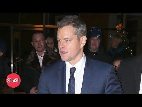 Download Youtube: Matt Damon Will Stop Sharing His Opinion | Daily Celebrity News | Splash TV