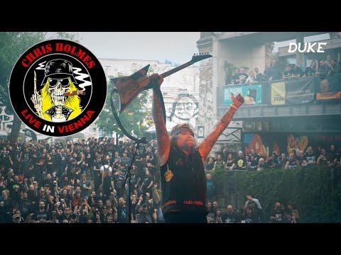 Chris Holmes – Live, Vienna Metal Meeting 2019 (Let It Roar, Animal, Rockin' in the Free World)