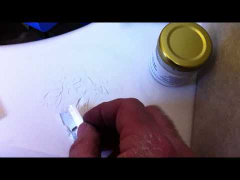 How To Fix A Chip In Tub So It Disaprears By DaveBlake Licesne Tile Contarct