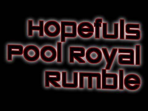 12 25 15 Match 1   Hopefuls Pool Royal Rumble