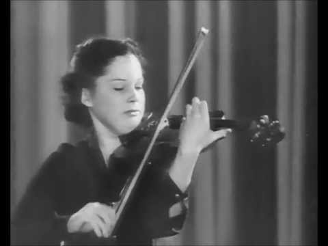 Patricia Travers ▪ The Carmen Fantasy Op. 25 by Pablo de Sarasate ▪ 1948