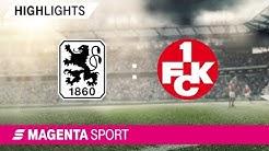 1860 München - 1. FC Kaiserslautern   Spieltag 10, 19/20   MAGENTA SPORT