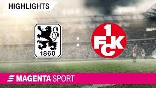 Gambar cover 1860 München - 1. FC Kaiserslautern   Spieltag 10, 19/20   MAGENTA SPORT