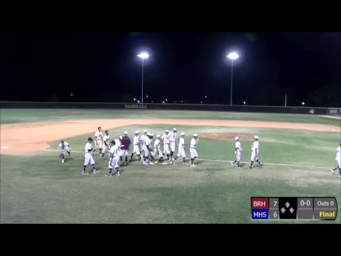 Braden River Baseball vs Manatee