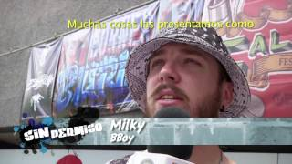 Sin Permiso 47. 4/4 Entrevista BBoy Milky