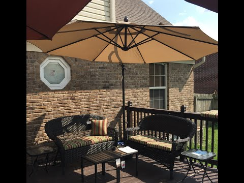 Ballin On A Budget #3: Patio/ Deck Tour - Outdoor Space