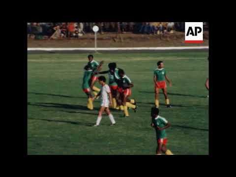 SYND 9 12 81 MEXICO V CANADA IN CONACAF FOOTBALL TOURNAMENT