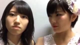【AKB48】岡田 奈々 村山彩希公演前 SHOWROOM【2016,10,21】