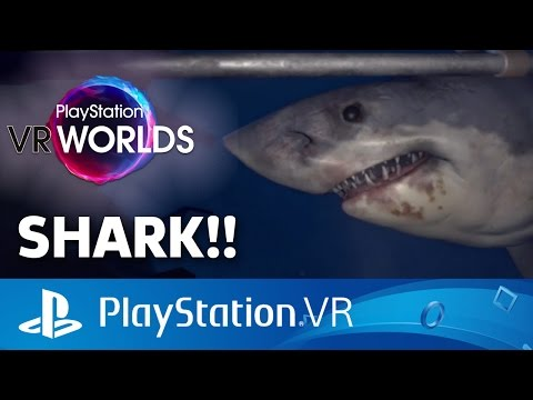 vr shark attack in ocean descent playstation vr gameplay