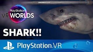 VR Shark Attack in Ocean Descent - PlayStation VR Gameplay