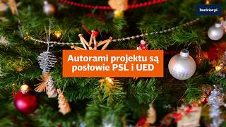 Wigilia dniem wolnym od pracy?   Bankier.pl