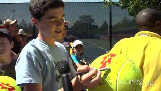2011 US Open: The Art of Autographs