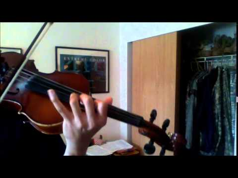 Shadow Of The Colossus - A Despair-Filled Farewell - Self-Duet Violin Cover
