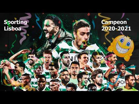Sporting Lisboa Campeón 2020-2021