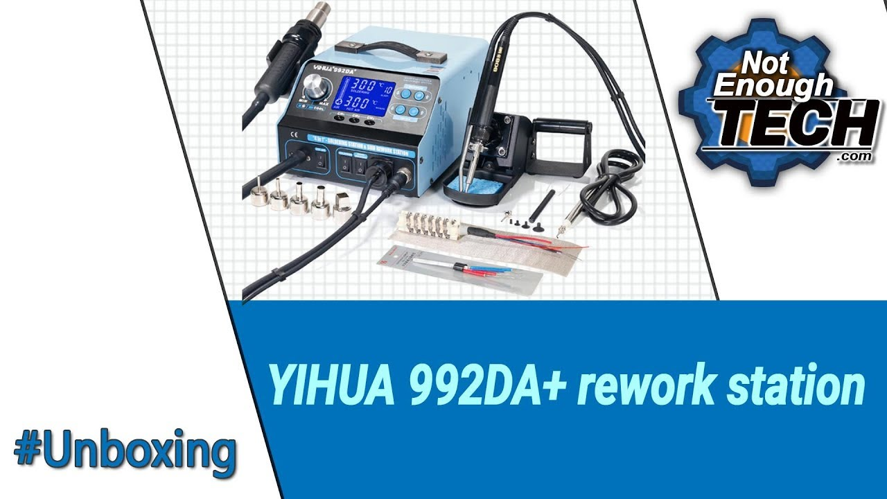 <b>YiHua 992DA+</b> rework station - unboxing - YouTube
