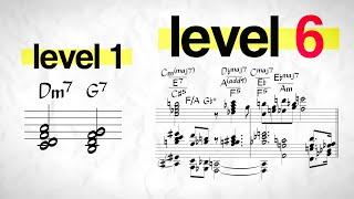 The 7 Levels of Jazz Harmony