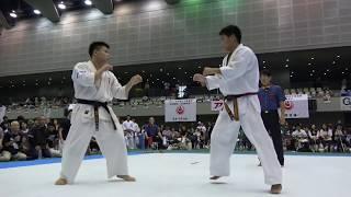 2018年9月23日、広島県立総合体育館にて開催された第35回全中国空手道選...