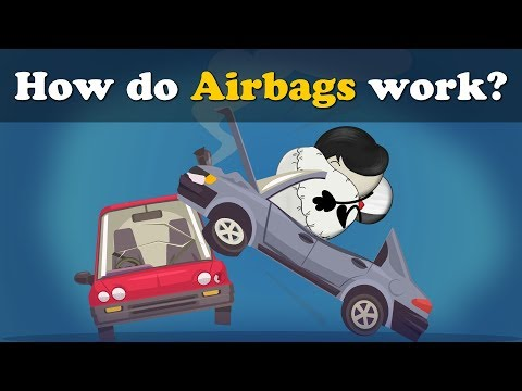 How do Airbags work? + more videos | #aumsum #kids #science #education #children