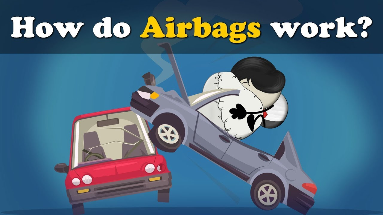 Download How do Airbags work? + more videos | #aumsum #kids #science #education #children