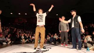 JUSTE DEBOUT RUSSIA 2014 | POPPING FINAL | RAMON & SERJ vs MOMO & GEO