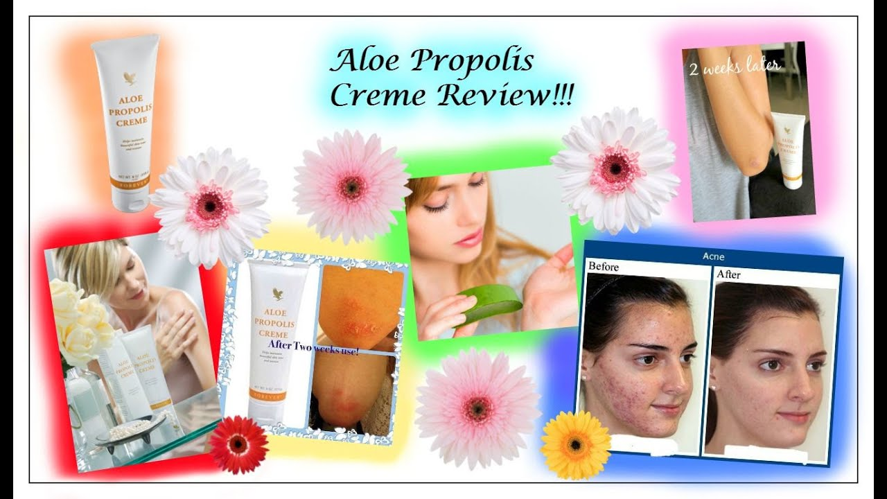 51 | Aloe Propolis Creme - YouTube