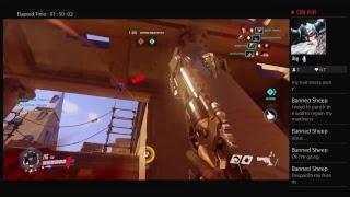 Overwatch Boring Stream w/MellisaMedic