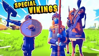 TABS - The EPIC Forgotten VIKING Secret Warriors - Totally Accurate Battle Simulator Mods