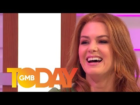 Isla Fisher Reveals What It Is Like to Live With Sacha Baron Cohen | Good Morning Britain