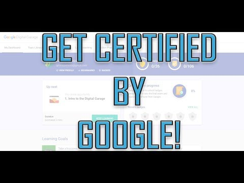 How to Get Google Certification in Digital Marketing! Free Google Certification!
