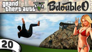 GTA 5 Online :: CLIFF DIVING! Part 20 [Grand Theft Auto V w/ BdoubleO100]