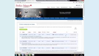100% в день! Кредитная биржа Perfect Money! Что там не так?(Видео записано к статье http://loxotrona.net/perfect-money-gde-zdes-kroetsya-obman/ Инвестирование в интернет дело очень прибыльное))..., 2016-06-20T13:02:59.000Z)