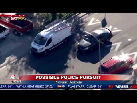 WATCH: Police Chase TURNS Graphic In Phoenix, Arizona