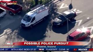 WATCH: Police Chase TURNS Graphic In Phoenix, Arizona