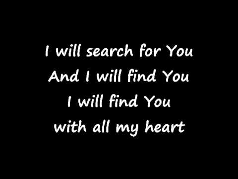 I Will Search for You - CFW