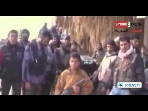 'Syrian militants train child soldiers!!!!09-02-2013