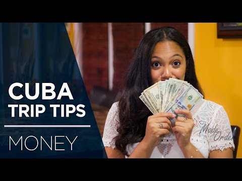 Cuba Trip Tips Ep 3. | Money | Made To Order | Chef Zee Cooks