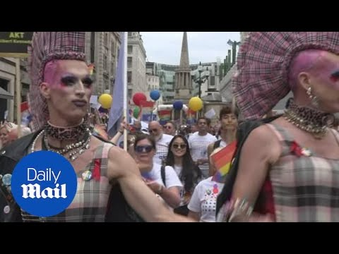 London's most diverse Pride parade marks Stonewall's anniversary