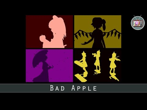 Bad Apple by Playsoft, 2017 | Atari 8 bit Demo
