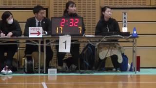 関東クラブバスケットボール選手権2017 02 04 HappyPeople神1 vs 千葉ジェッツネクスト千2