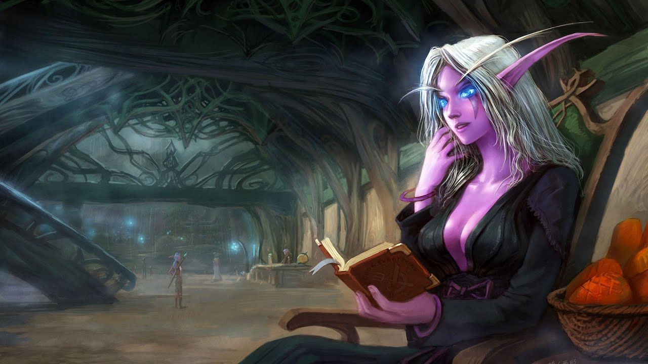 World of warcraft night elf sorry, that