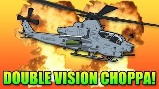 Battlefield 4 Get To The Chopper - Double Vision Attack Helicopter
