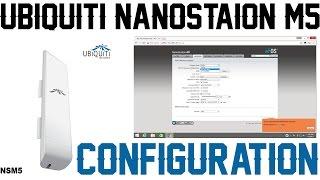 Comment installer et configurer Ubiquiti NANOSTATION M5 que l'A. P. (point d'Accès)